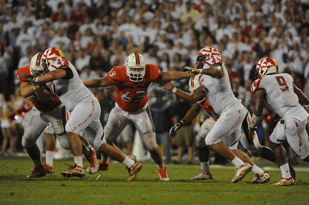 2011 Miami Hurricanes Football @ Maryland<br /> <br /> Tyler Horn