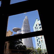 The Bitexco Financial Tower in Ho Chi Minh City, Vietnam. 3rd March 2012. Photo Tim Clayton