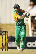 AB de Villiers during the first Sunfoil ODI between the Proteas and Sri Lanka played at Boland Stadium in Paarl, South Africa on 11 January 2012. Photo by Jacques Rossouw/SPORTZPICS