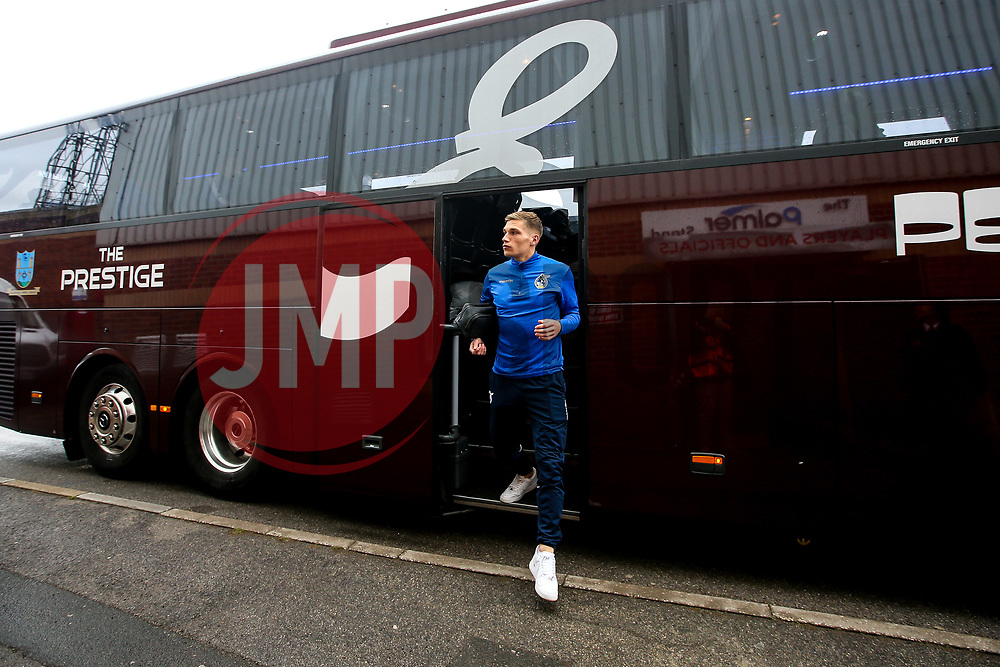 Gavin Reilly of Bristol Rovers arrives at Barnsley - Mandatory by-line: Robbie Stephenson/JMP - 27/10/2018 - FOOTBALL - Oakwell Stadium - Barnsley, England - Barnsley v Bristol Rovers - Sky Bet League One