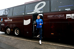 Gavin Reilly of Bristol Rovers arrives at Barnsley - Mandatory by-line: Robbie Stephenson/JMP - 27/10/2018 - FOOTBALL - Oakwell Stadium - Barnsley, England - Barnsley v Bristol Rovers - Sky Bet League One