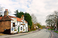 The Barrel pub, Walkington village East Yorkshire.