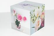 Still Life Flowers Photo Cube