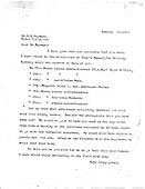 Hayward Correspondence 1927