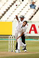 Imran Tahir during Day 2 of the Sunfoil Test Series between South Africa and Australia played at Sahara Park Newlands, Cape Town, South Africa on the 10th November2011. Photo by Jacques Rossouw/SPORTZPICS
