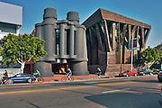 Venice, Google, Building, four-story, pair of, binoculars, Frank Gehry, design, binoculars house two conference rooms, the eyepieces are skylights, Los Angeles, CA,