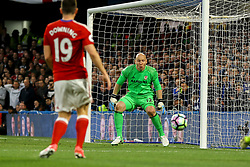 Brad Guzan of Middlesbrough watches as the ball comes his way - Mandatory by-line: Jason Brown/JMP - 08/05/17 - FOOTBALL - Stamford Bridge - London, England - Chelsea v Middlesbrough - Premier League