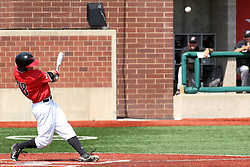 17 April 2016:  Ryan Hutchinson during an NCAA Division I Baseball game between the Southern Illinois Salukis and the Illinois State Redbirds in Duffy Bass Field, Normal IL