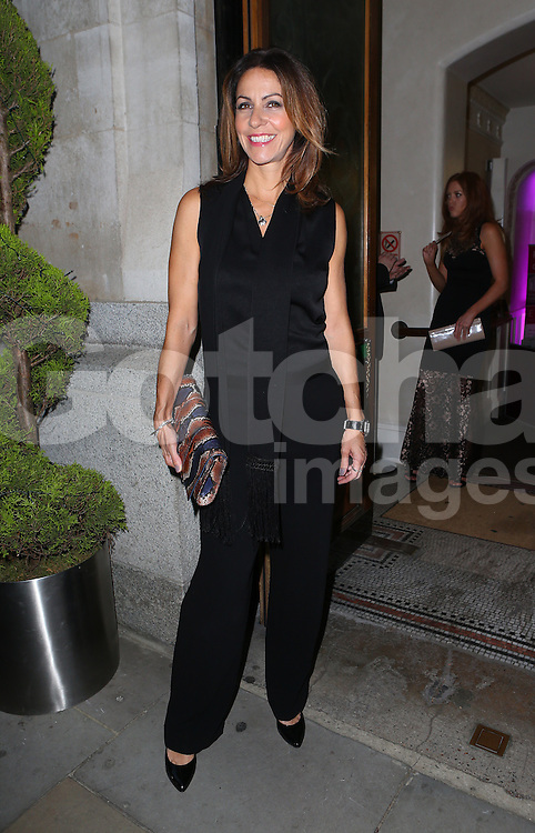 Julia Bradbury attends the Inspiration Awards for Women at Cadogan Hall in London, UK. 02/10/2014<br />