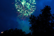 Fireworks in Idaho Springs, Fourth of July