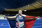 Alexandra Tavernier (FRA) win the Silver Medal in Hammer Throw Women during the European Championships 2018, at Olympic Stadium in Berlin, Germany, Day 6, on August 12, 2018 - Photo Julien Crosnier / KMSP / ProSportsImages / DPPI