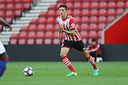 Alfie Jones of Southampton U23's during the Under 23 Premier League 2 match between Southampton and Manchester United at St Mary's Stadium, Southampton, England on 22 August 2016. Photo by Phil Duncan.