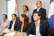 Vazquez reunido con los representantes de gremiales agropecuarias.