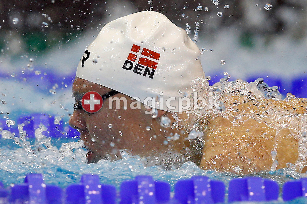 Daniel SKAANING of Denmark competes in the men's 100m Butterfly Heats during the LEN European Swimming Championships at Europa-Sportpark in Berlin, Germany, Friday, Aug. 22, 2014. (Photo by Patrick B. Kraemer / MAGICPBK)