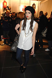 PEACHES GELDOF at a party to celebrate the opening of the new H&M store at 234 Regent Street, London on 13th February 2008.<br /><br />NON EXCLUSIVE - WORLD RIGHTS
