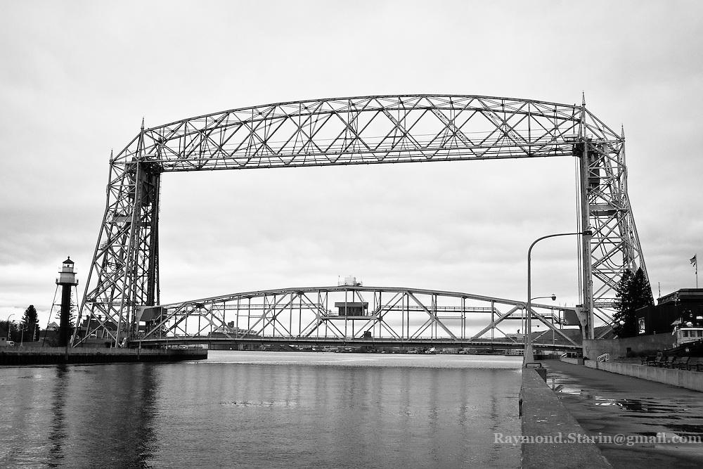 Duluth Minnesota Harbor Bridge