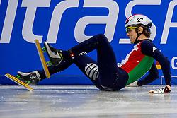14-01-2018 DUI: ISU European Short Track Championships 2018 day 3, Dresden<br /> Tommaso Dotti ITA #27
