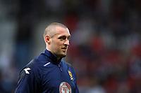 """Scotland v Iceland<br /> World Cup Qualifier<br /> Hampden Park / BT Stadium<br /> Glasgow<br /> <br /> Scotlands """"dropped"""" goalkeeper Alan McGregor<br /> <br /> 1st April 2009<br /> <br /> <br /> <br /> <br /> Ian MacNicol<br /> 07949 850 537<br /> ian_mac1966@yahoo.com<br /> www.ianmacnicolimages.co.uk"""