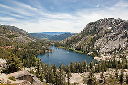 """Warren Lake 1"" - Photograph of Warren Lake in the Tahoe National Forest, near Truckee, California."