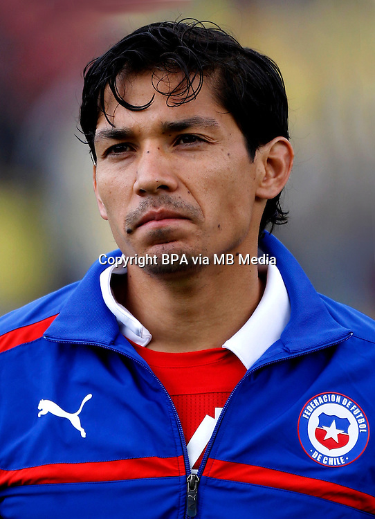 Football Fifa Brazil 2014 World Cup / <br /> Chile National Team - <br /> Matias Fernandez of Chile