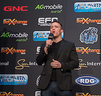 20151006, GRANDWEST, CAPE TOWN, SOUTH AFRICA:  Cyrus Feesduring EFC 45 Weigh-in at GrandWest Casino, Cape Town, South Africa. <br /> (Photo by Anton Geyser / EFC Worldwide 2015)
