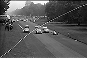 16/09/1967<br /> 09/16/1967<br /> 16 September 1967<br /> Phoenix Park Motor Racing, Kingsway Trophy Race, sponsored by Player and Wills (Ireland) Limited. <br /> Image show the start of one of the heats.