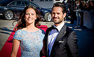 PRIVATE DINNER FOR THE WEDDING OF PRINCE CARL PHILIP AND SOFIA hellqvist