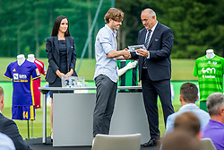 Sebastjan Komel of ND Gorica during official draw for Slovenian first football league for season 2018-2019, on June 21, 2018 in Nacionalni nogometni center Brdo pri Kranju, Kranj, Slovenia. Photo by Ziga Zupan / Sportida
