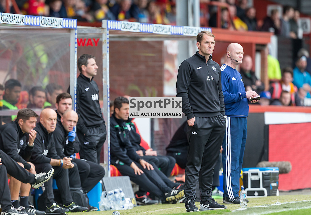 Alan Archibald during the Scottish Premiership match between Partick Thistle and Celtic (c) ROSS EAGLESHAM | Sportpix.co.uk