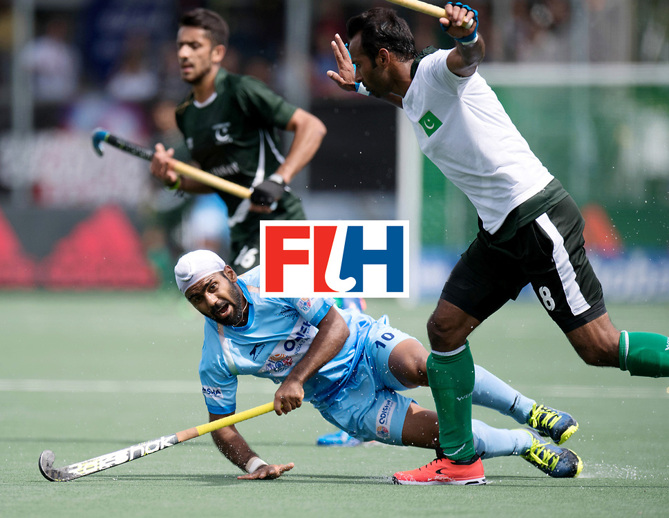 BREDA - Rabobank Hockey Champions Trophy<br /> India - Pakistan<br /> Photo: Simranjeet Singh.<br /> COPYRIGHT WORLDSPORTPICS FRANK UIJLENBROEK