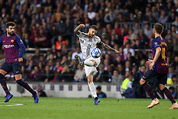 October 24, 2018 - Barcelona, Spain - Barcelona, Spain, October 24, 2018: Mauro Icardi of FC Internazionale in action during the UEFA Champions League, Group B football match between FC Barcelona and FC Internazionale on October 24, 2018 at Camp Nou stadium in Barcelona, Spain (Credit Image: © Manuel Blondeau via ZUMA Wire)