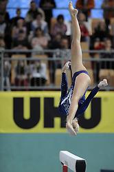 Adela Sajn (SLO) placed fourth at Salamunov memorial World Cup, on April 19, 2009, in Arena Luknja, Ljudski vrt, Maribor, Slovenia. (Photo by Zoran Flis / Sportida)