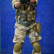 No more frills with Allan Ancheta's cosplay from video game Call of Duty.