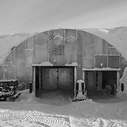 Vehicle Maintenance Facility (VMF/garage) entrance