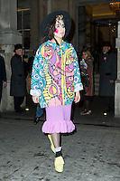 Lady Gaga, The Langham, London UK, 06 December 2013, Photo by Raimondas Kazenas