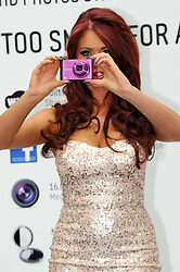 Amy Childs launches Samsung's new range of SMART cameras in London, Tuesday 1st May  2012  Photo by: Chris Joseph / i-Images