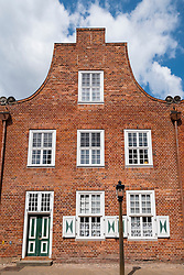 Taditional Dutch style house in Dutch Quarter in Potsdam Brandenburg Germany