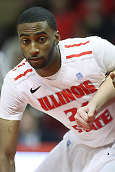 08 December 2012:  Geoffrey Allen during an NCAA mens basketball game between the Western Michigan Broncos and the Illinois State Redbirds (Missouri Valley Conference) in Redbird Arena, Normal IL