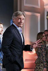 September 19, 2017 - Madrid, Spain - Harrison Ford, Ana de Armas and Ryan Gosling poses during the photocall of the film 'Blade Runner 2049' in Madrid on September 19, 2017. (Credit Image: © Oscar Gonzalez/NurPhoto via ZUMA Press)