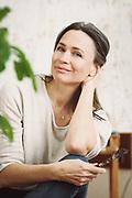 Portrait of artist, Isabelle Truchon