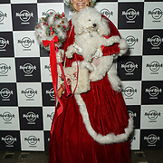 Hard Rock Cafe London, England, UK. 4th Dec 2017. Miss Christmas,snowflake Arrivals at Fight For Life Charity Event of Christmas festivities and entertainment for children with cancer.