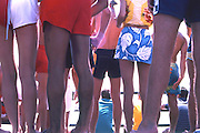Legs At The OP Pro In Huntington Beach California