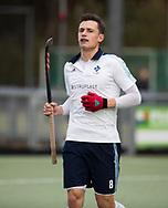 TILBURG - Sander Visser (Tilburg)  . Hoofdklasse hockey competitie Tilburg-SCHC (4-2). COPYRIGHT KOEN SUYK