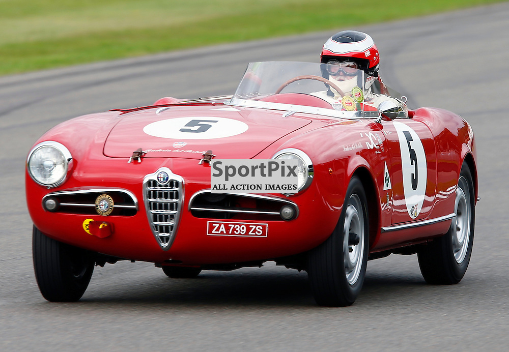 GOODWOOD REVIVAL....Marco Cajani during qualifying for the weekend races...(c) STEPHEN LAWSON   SportPix.org.uk