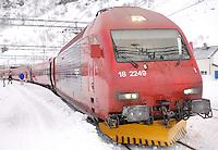 Bergen Railroad Engine at Finse, Norway. Image taken with a Nikon D2xs and 28-70 mm f/2.8 ens (ISO 100, 28 mm, f/2.8, 1/60 sec)