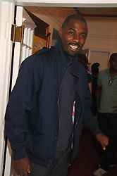 Actor IDRIS ELBA at the Grand Classics presentation of Ken Loach's Oscar winning film 'Closely Observed Trains' held at the Electric Cinema, Portobello Road, London W11 on 9th July 2007.<br />