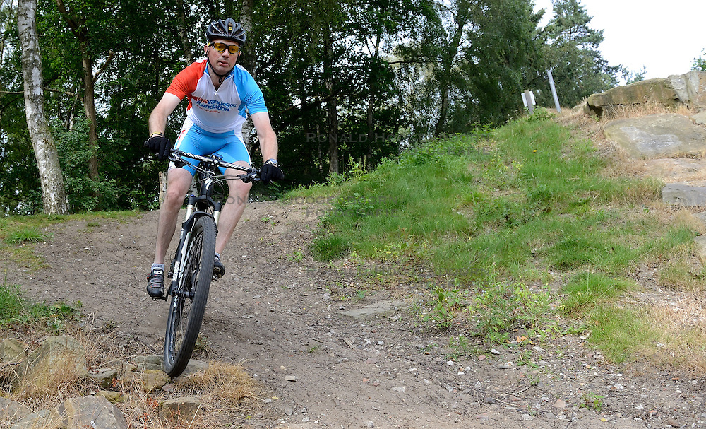 28-06-2014 NED: We Bike 2 Change Diabetes Cyprus 2014, Arnhem<br /> Op Papendal werd de tweede training en informatie gegeven voor de Mountainbike Challenge Cyprus. We Bike 2 Change Diabetes gaat weer van start /