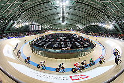 March 1, 2019 - Pruszkow, Poland - General view of Arena Pruszkow during the Men's Points Race at the UCI Track Cycling World Championships in Pruszkow on March 1, 2019. (Credit Image: © Foto Olimpik/NurPhoto via ZUMA Press)