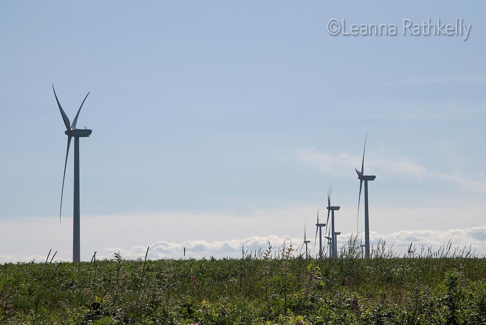 Wind Farm, near East Point, Prince Edward Island, Canada