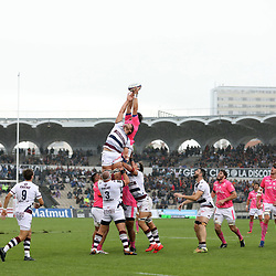 Jandre Marais of Bordeaux during the Top 14 match between Bordeaux Begles and Stade Francais on September 9, 2017 in Bordeaux, France. (Photo by Manuel Blondeau/Icon Sport)
